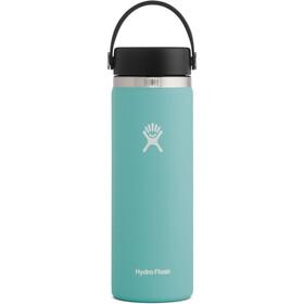 Hydro Flask Wide Mouth Bidón con Tapa Flex 591ml, Turquesa